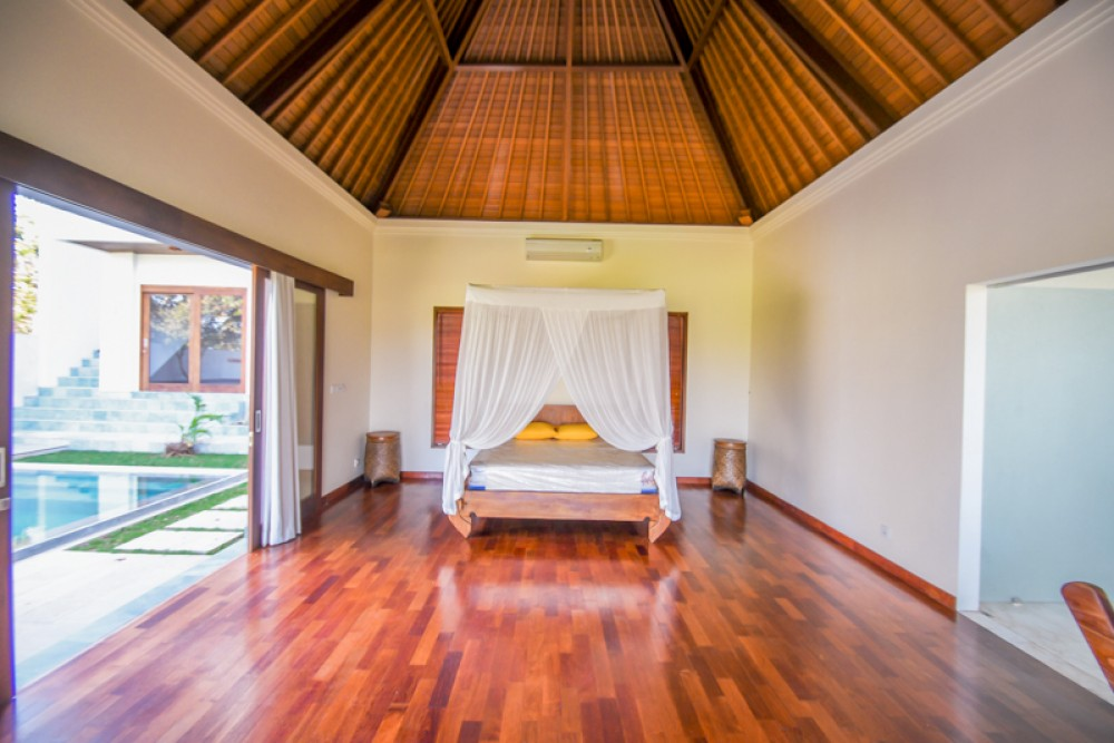 Spacious room of Ubud villas for your family