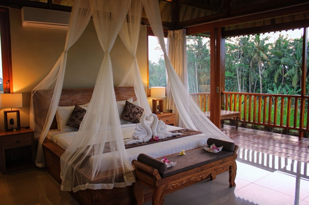 A romantic Ubud villas for your honeymoon