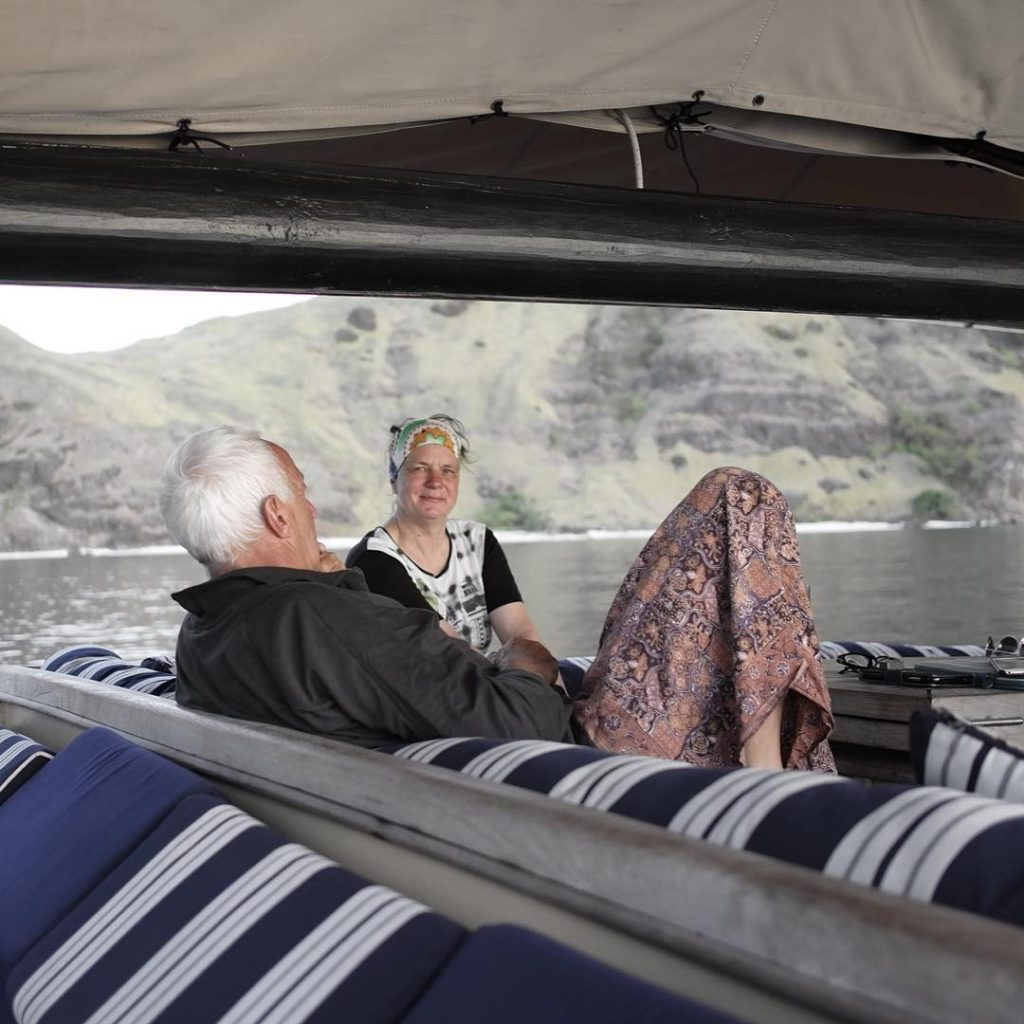 Enjoying Komodo Liveaboard for Senior Members